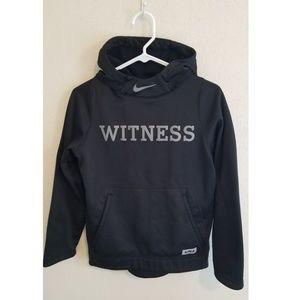 Nike boys large hoodie witness